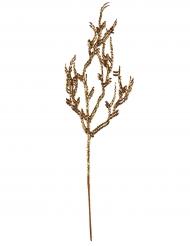 Branche pailletée dorée 9.5 x 35 cm