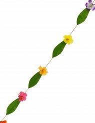 Guirlande Hawaï fleurs multicolores 1,8m