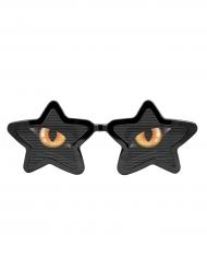 Lunettes XXL avec yeux de chat adulte