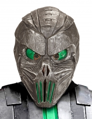 Masque cyborg galactique vert adulte