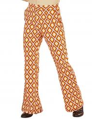 Pantalon groovy rétro années 70 homme
