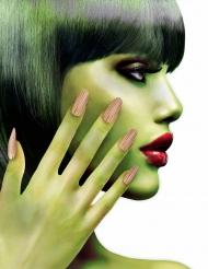 Faux ongles adhésifs zombie femme Halloween