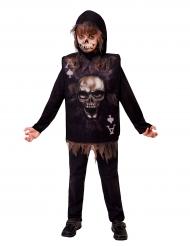 Déguisement carte squelette enfant Halloween