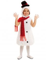 Déguisement bonhomme de neige peluche enfant Noël