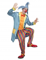 Déguisement clown joker adulte