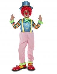 Déguisement clown rose enfant