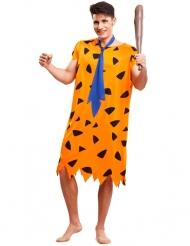 Déguisement préhistoire orange homme