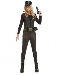 Déguisement combinaison SWAT sexy femme