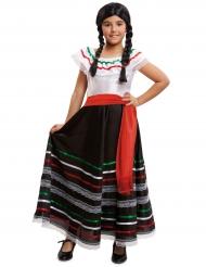 Déguisement mexicaine robe longue fille