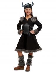 Déguisement viking noire fille