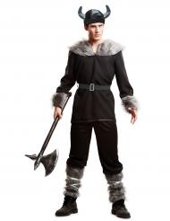 Déguisement viking noir homme