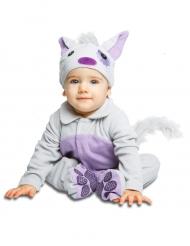 Déguisement petit chat avec sucette luxe bébé