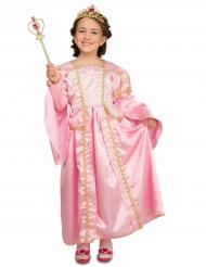 Déguisement princesse rose avec accessoires enfant