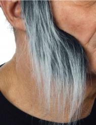 Rouflaquettes longues grisonnante adulte