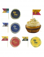 Lot de 100 décorations pour cupcakes - Harry Potter™