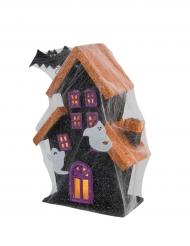 Maison hantée lumineuse Halloween 30cm
