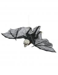 Décoration à suspendre squelette chauve souris 50 cm