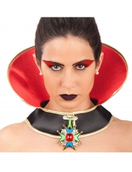 Collier vampire halloween femme