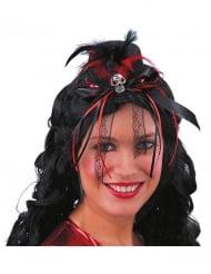 Mini chapeau Dia de los muertos femme
