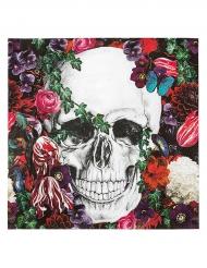 20 Serviettes en papier Dia de los muertos 33 cm