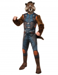 Déguisement avec masque Rocket Raccoon™ Les gardiens de la galaxie 2™ adultes