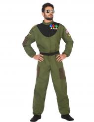 Déguisement aviateur militaire homme
