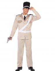 Déguisement gendarme du sud adulte