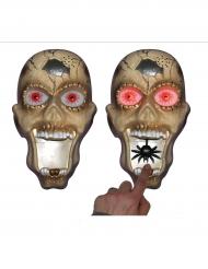 Sonnette de porte lumineuse et sonore Halloween