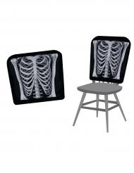 Housse de chaises squelette 38 X 48 cm Halloween