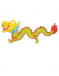 Décoration dragon coloré 100 cm Nouvel an chinois