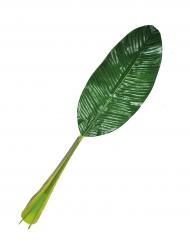 Décoration feuille verte Hawaï 74 cm