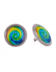 Bague hippie multicolore adulte