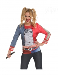 T-shirt joker maléfique femme