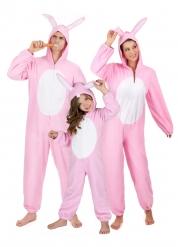 Déguisement famille lapin rose