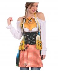 Tablier bavaroise femme
