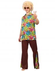Déguisement hippie flowers homme
