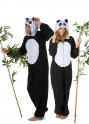 Déguisement de couple panda adulte