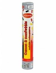 Canon à confettis supporter Allemagne / Belgique 30 cm