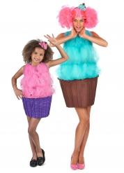 Déguisement de couple cupcake mère/fille