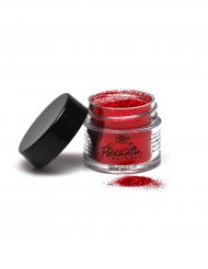 Poudre pailletée professionnelle rouge Mehron 7g