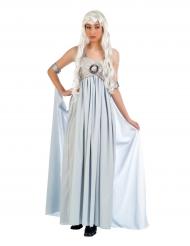 Déguisement robe de princesse bleue femme