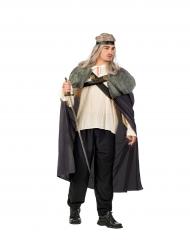 Cape de guerrier grise homme