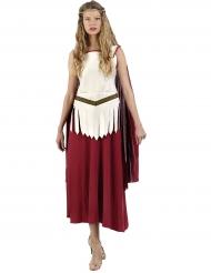 Déguisement gladiatrice romaine robe femme