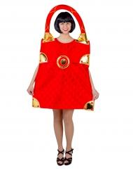 Déguisement sac rouge femme