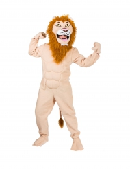 Déguisement lion musclé adulte