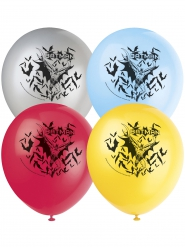 8 Ballons latex Batman ™ 30 cm