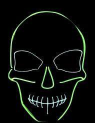 Masque néon squelette
