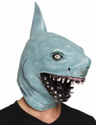 Masque requin en latex adulte