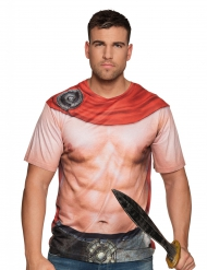 T-shirt gladiateur torse nu adulte