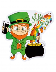 Décoration chaudron multicolore Saint Patrick